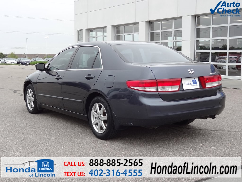 used 2003 honda accord ex l 4d sedan near omaha d2035a honda of lincoln. Black Bedroom Furniture Sets. Home Design Ideas