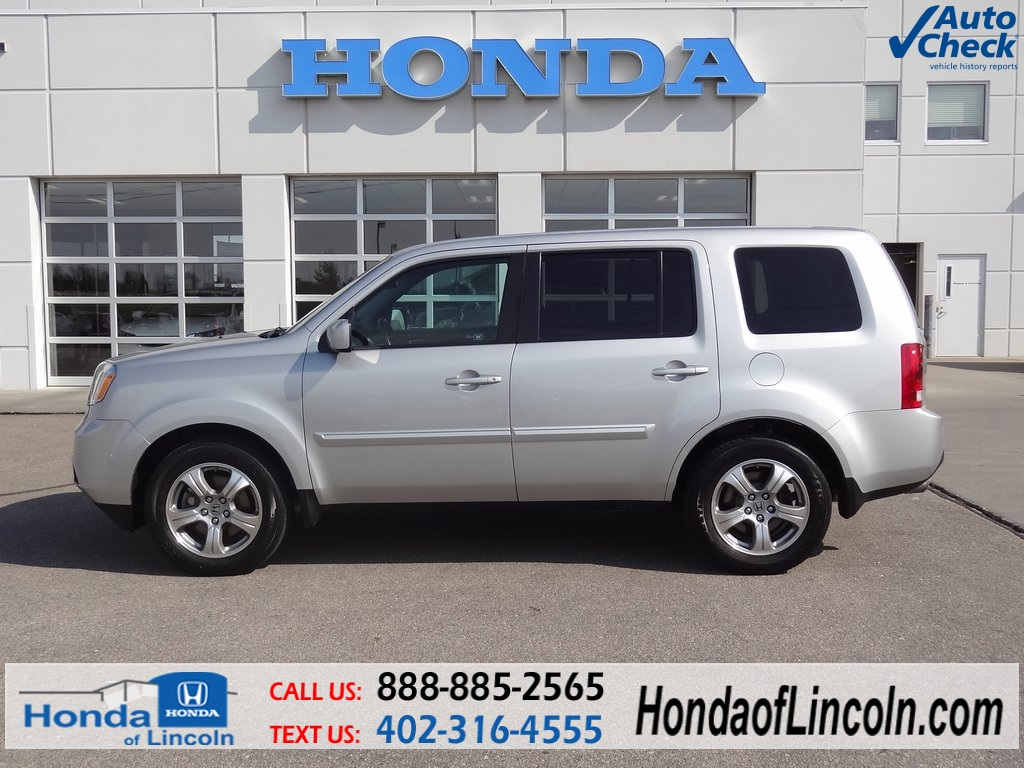 certified used 2012 honda pilot ex l 4d sport utility near omaha d1459a honda of lincoln. Black Bedroom Furniture Sets. Home Design Ideas