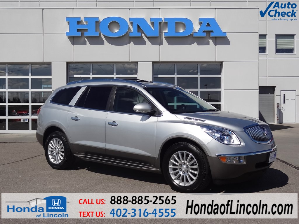 used 2011 buick enclave cxl 4d sport utility near omaha d1217a honda of lincoln. Black Bedroom Furniture Sets. Home Design Ideas